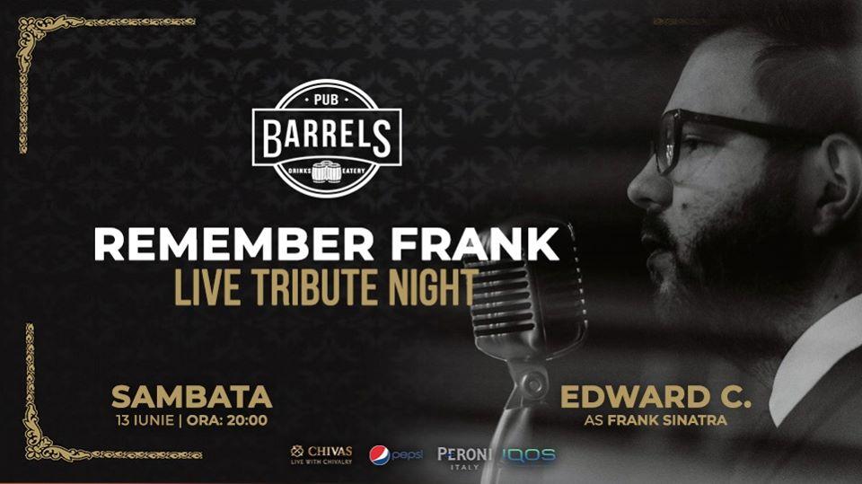 Remember Frank - Live tribute night